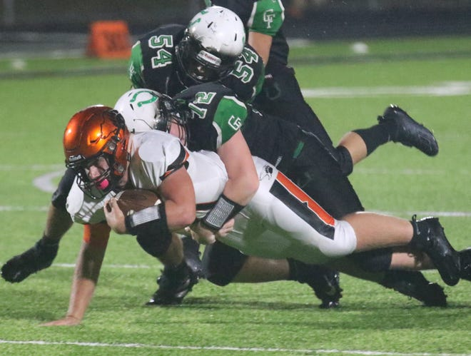 Lucas' Ethan Wallace led the Cubs to a nice Week 1 win over Clear Fork on Friday night.