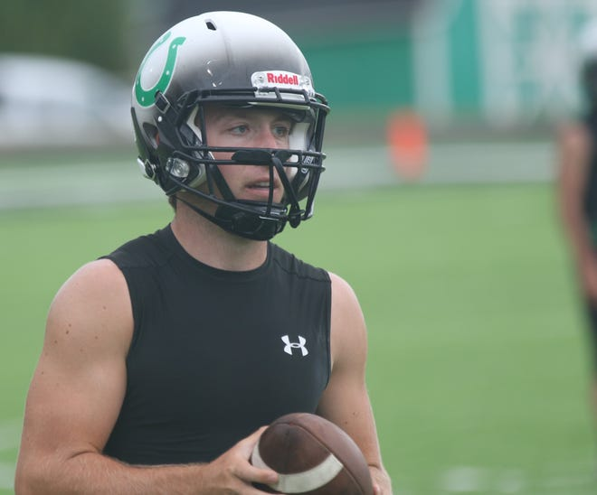 Clear Fork's Brady Tedrow orchestrated a comeback win for the Colts as they beat Lexington on Friday night.