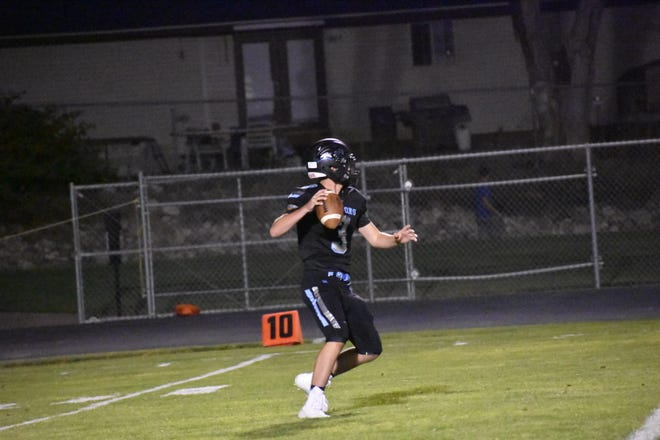 Canyon View quarterback Jake Garrett has been the most efficient passer in Region 9 this year.