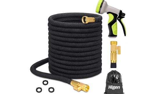 Retire that bulky, tangled mess of a hose in your backyard.