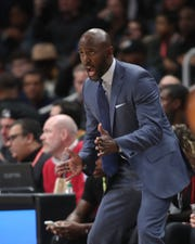 Hawks head coach Lloyd Pierce was the driving force in founding Coaches for Racial Justice.