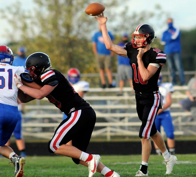 Crestview's Ross Kuhn broke the single-game passing touchdown record last week with five. What does he have in store this week?