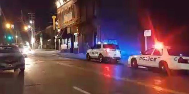 One person is injured after a shooting occurred near the Mad Frog in Clifton Saturday night, police said.
