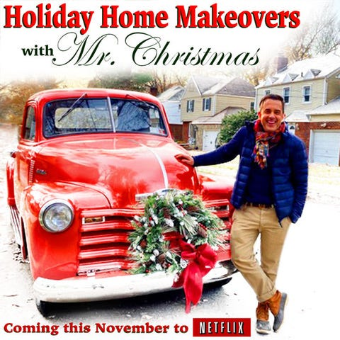 """Boonville native Benjamin Bradley is """"Mr. Christmas"""" for an upcoming Netflix reality show that focuses on holiday home makeovers."""