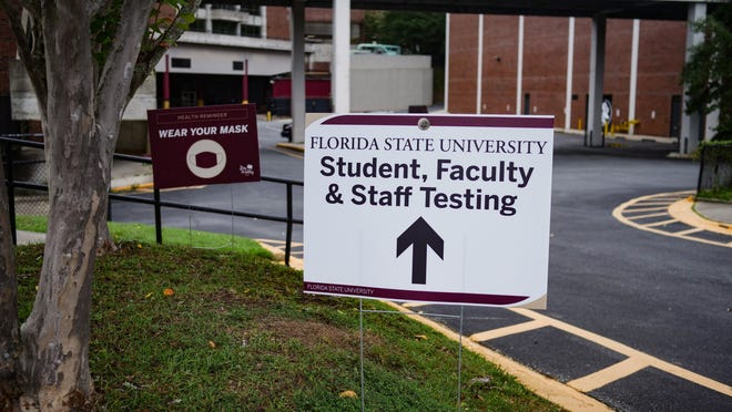 FSU opened a COVID-19 testing site for students and staff at the Donald L. Tucker Civic Center.