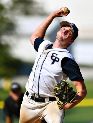 East Prospect pitcher Nick Kreider, seen here in a file photo, pitched at shutout on Saturday vs. Mount Wolf.