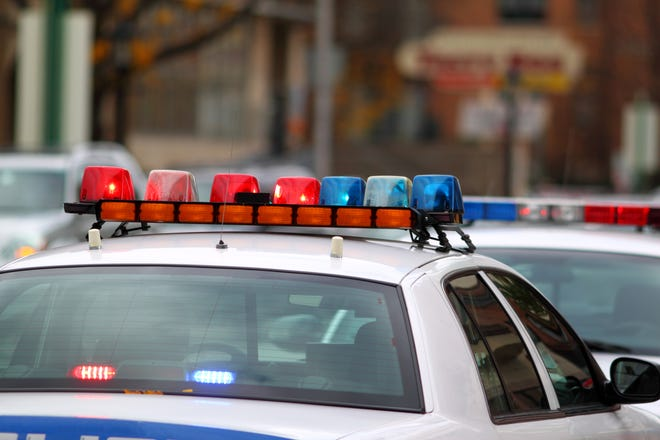 A 22-year-old city man died following a one-car crash downtown Sunday morning.
