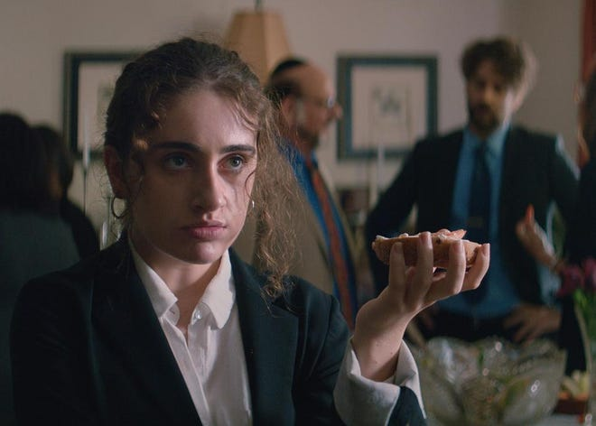"Anyone who's been to a Jewish family gathering will immediately feel uncomfortable watching ""Shiva Baby."" Rachel Sennott stars."