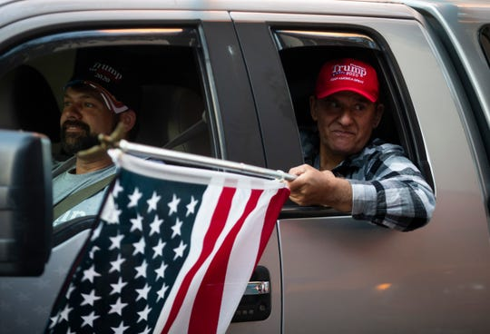 More than 1,000 people gathered Saturday, Aug. 29, 2020 at the area's largest rally for President Donald Trump amid the 2020 election season.