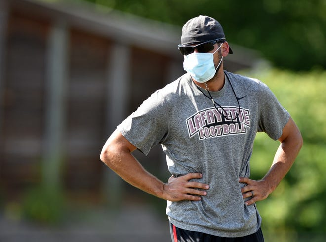 Beaver Falls High School head football coach Nick Nardone.