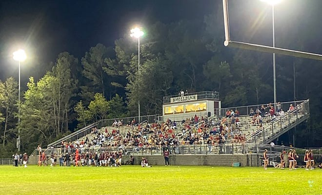 Thomas Heyward hosted its season-opening football game Friday with new guidelines in place for teams and fans because of the coronavirus pandemic.