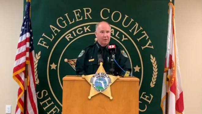 Flagler County Sheriff Rick Staly is shown in this file photo.