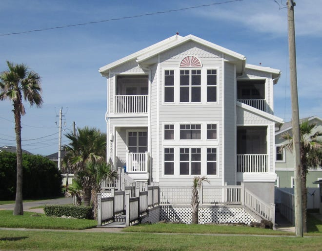 This house on North Oceanshore Boulevard in Flagler Beach sold recently for $800,000. It has three bedrooms and four bathrooms in 2,903 square feet of living space. It also has three balconies, a gourmet kitchen, an elevator, a gas fireplace, a safe room and a bonus room. It was built in 2003.