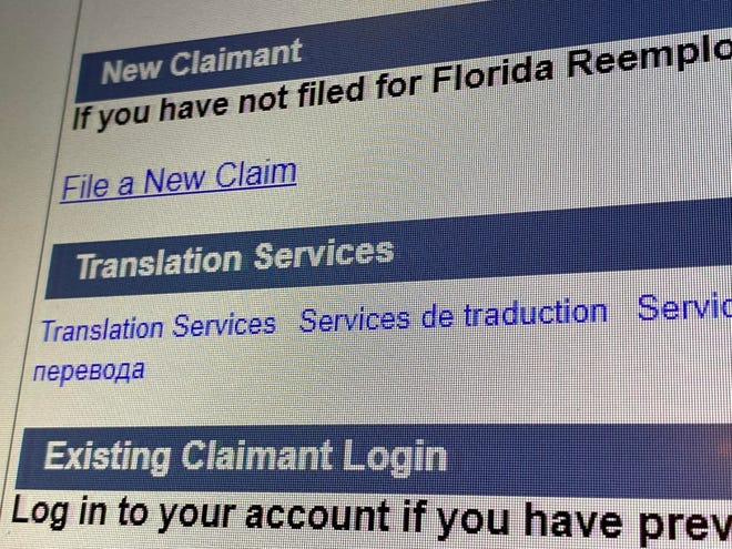 CONNECT, Florida's Online Reemployment Assistance System.