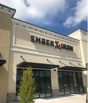 Ember & Iron will be the first live-fire focused restaurant in Northeast Florida when it opens this fall at the Shoppes of St. Johns Parkway in St. Johns near the Duval-St. Johns county line.