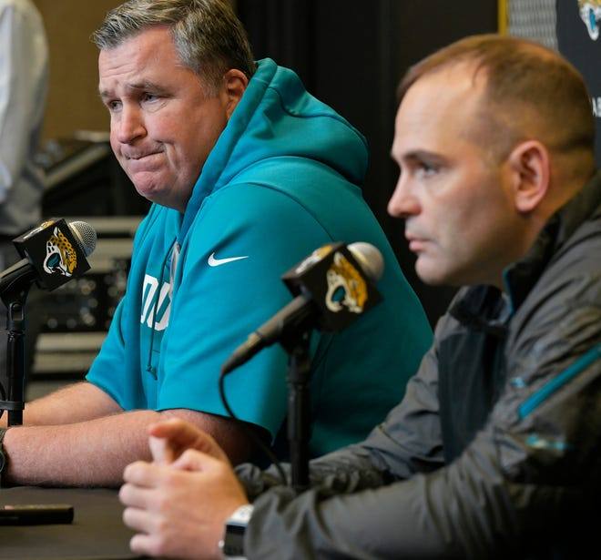 The Jaguars releasing Leonard Fournette without any compensation makes it harder to envision whether coach Doug Marrone and general manager Dave Caldwell are giving this team its best chance to win in 2020.