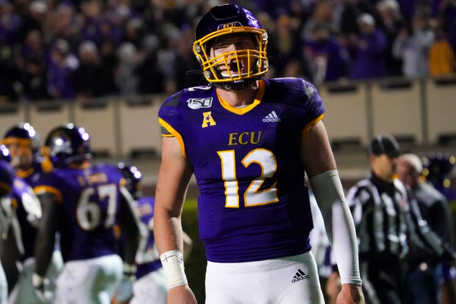 Quarterback Holton Ahlers will return to East Carolina this season. The Pirates start their season Sept. 26 at home against UCF.