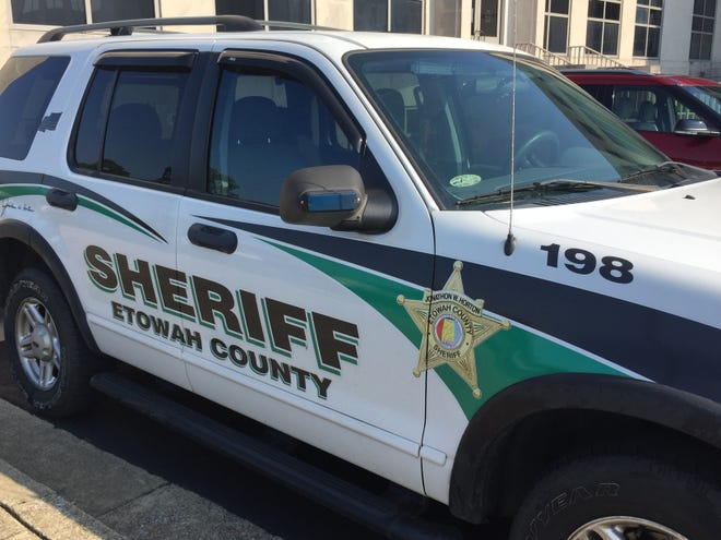 Etowah County Sheriff's Office vehicle