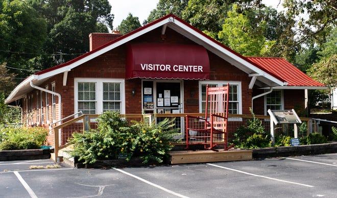 The Black Mountain visitor center is experiencing more foot traffic than expected, Sharon Tabor says.