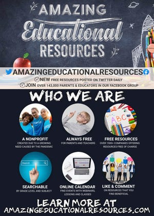 Amazing Educational Resources is a database of free supplemental learning resources to help parents and teachers find engaging academic content for students during remote learning.
