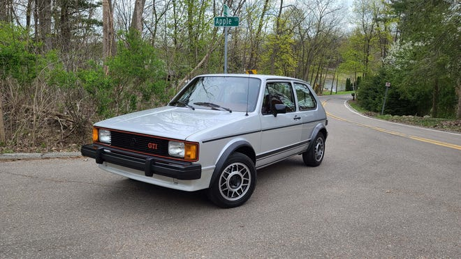 The 1984 VW Rabbit GTI likes to party on Oakland County's twisty roads.