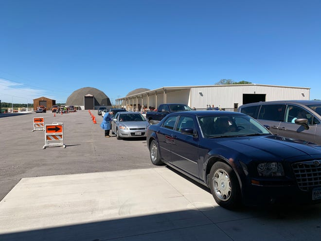 A drive-thru COVID-19 testing event held Friday and Saturday in Fond du Lac County collected 1,578 tests, according to Fond du Lac County Health Officer Kim Mueller