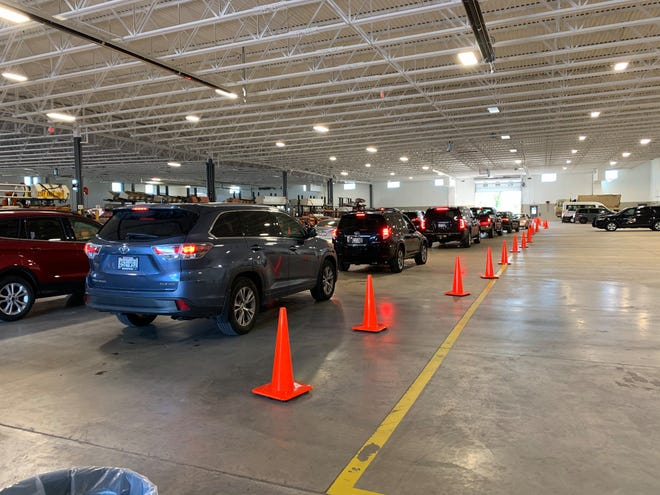 Fond du Lac County is offering drive-thru COVID-10 testing every Thursday at Fond du Lac County Fairgrounds.