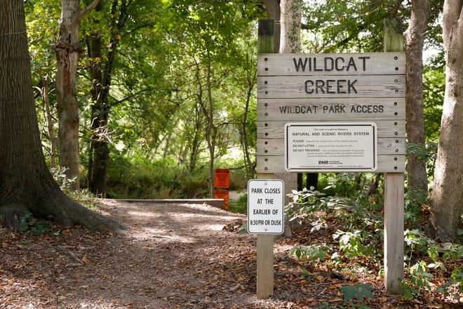 Wildcat Creek Park, 5301 Eisenhower Road, Monday, Aug. 31, 2020 in Lafayette., Monday, Aug. 31, 2020 in Lafayette.