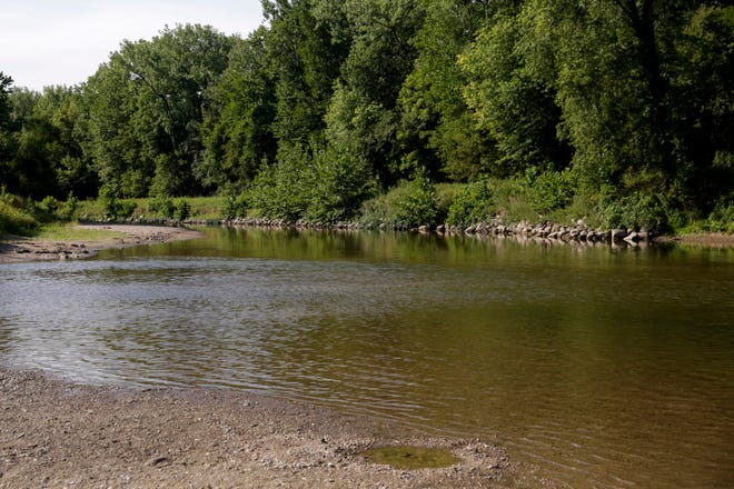 A view of Wildcat Creek from Wildcat Creek Park, 5301 Eisenhower Road, Monday, Aug. 31, 2020 in Lafayette.