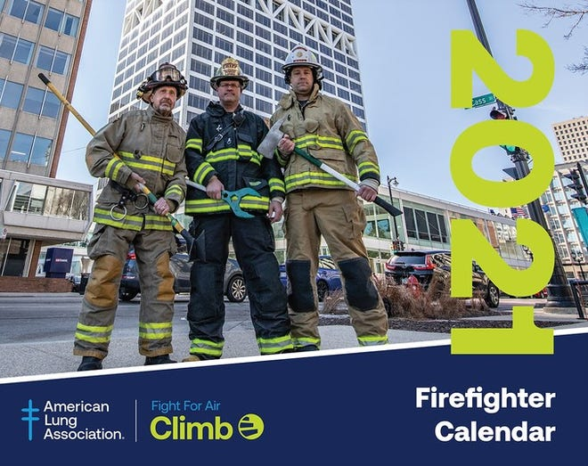 Milwaukee area firefighters featured in national 'Air Climb' calendar
