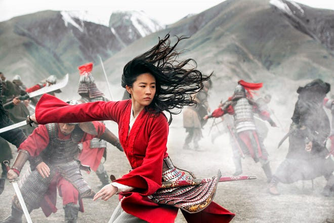 """Yifei Liu stars in """"Mulan,"""" which will be available as a premium offer on Disney+ on Friday."""