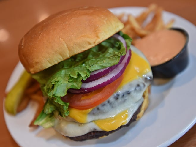 The version of the Awful Awful burger served in the All-American Eatery in the Carson City Nugget.