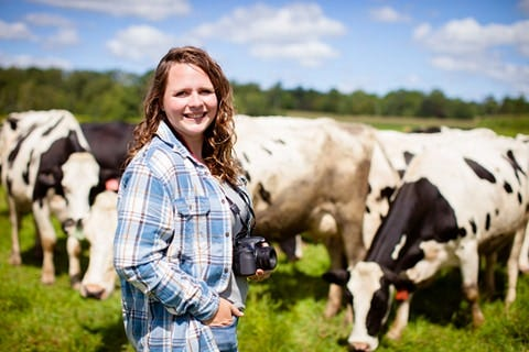 Brittany Olson is elevating rural issues through Wisconsin Farmers Union's Rural Voices project. She is a dairy farmer, writer, and photographer from Chetek, WI.