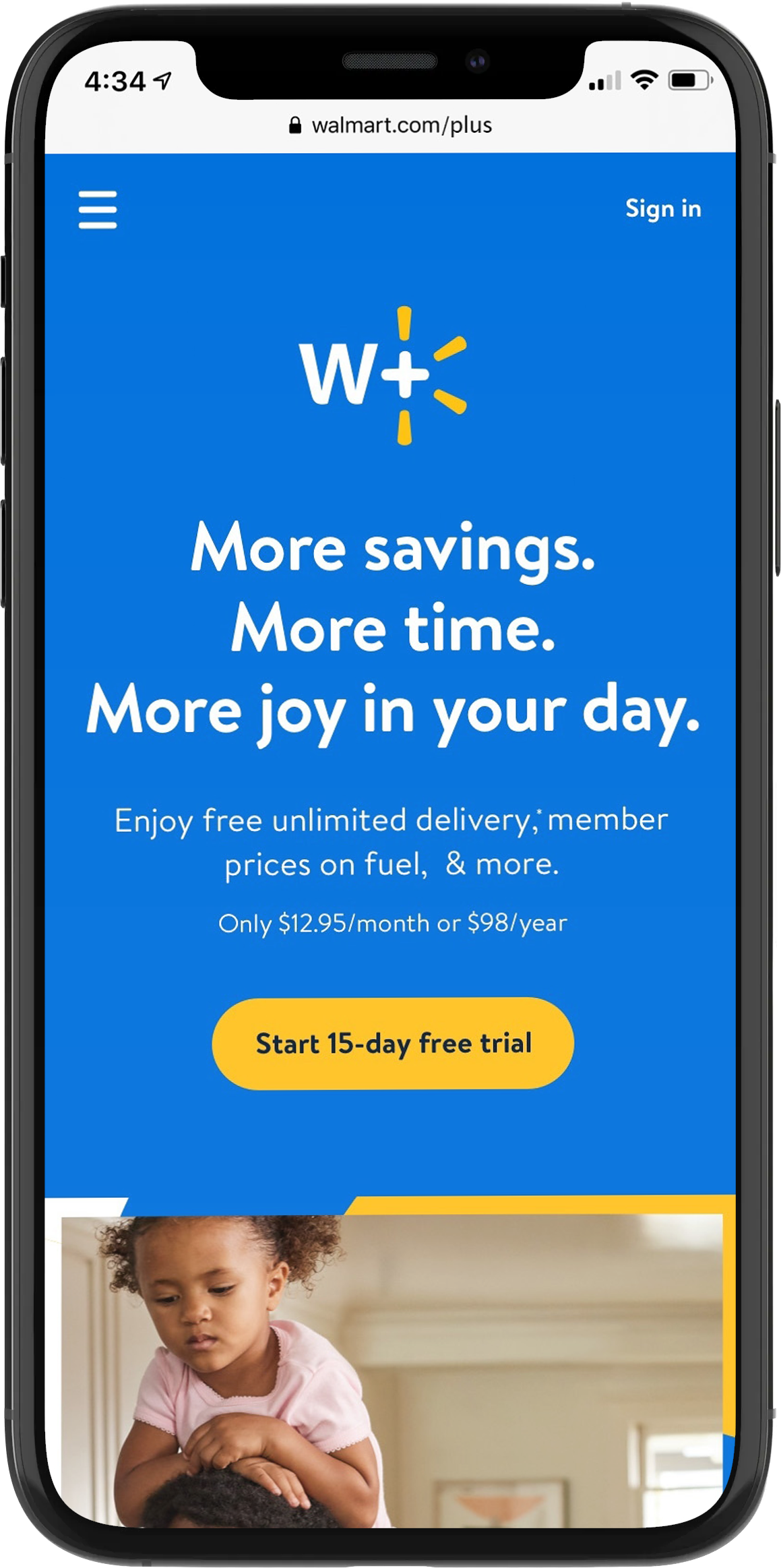 Walmart will remove $35 minimum on online orders for its members