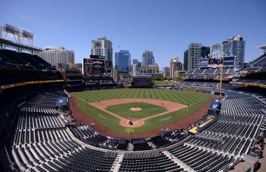 Petco Park, the San Diego Padres' home ballpark.