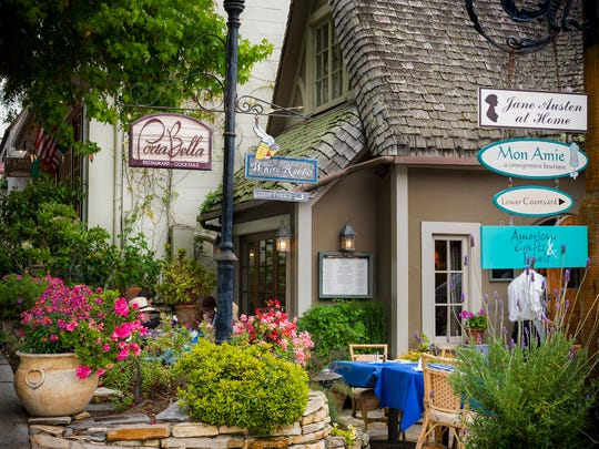 Located on the Monterey Peninsula, Carmel-by-the-Sea features hidden nooks and charming courtyards among the storefronts lining its picturesque streets. The European-style village is home to a robust arts scene, and stunning sunsets at Carmel Beach.