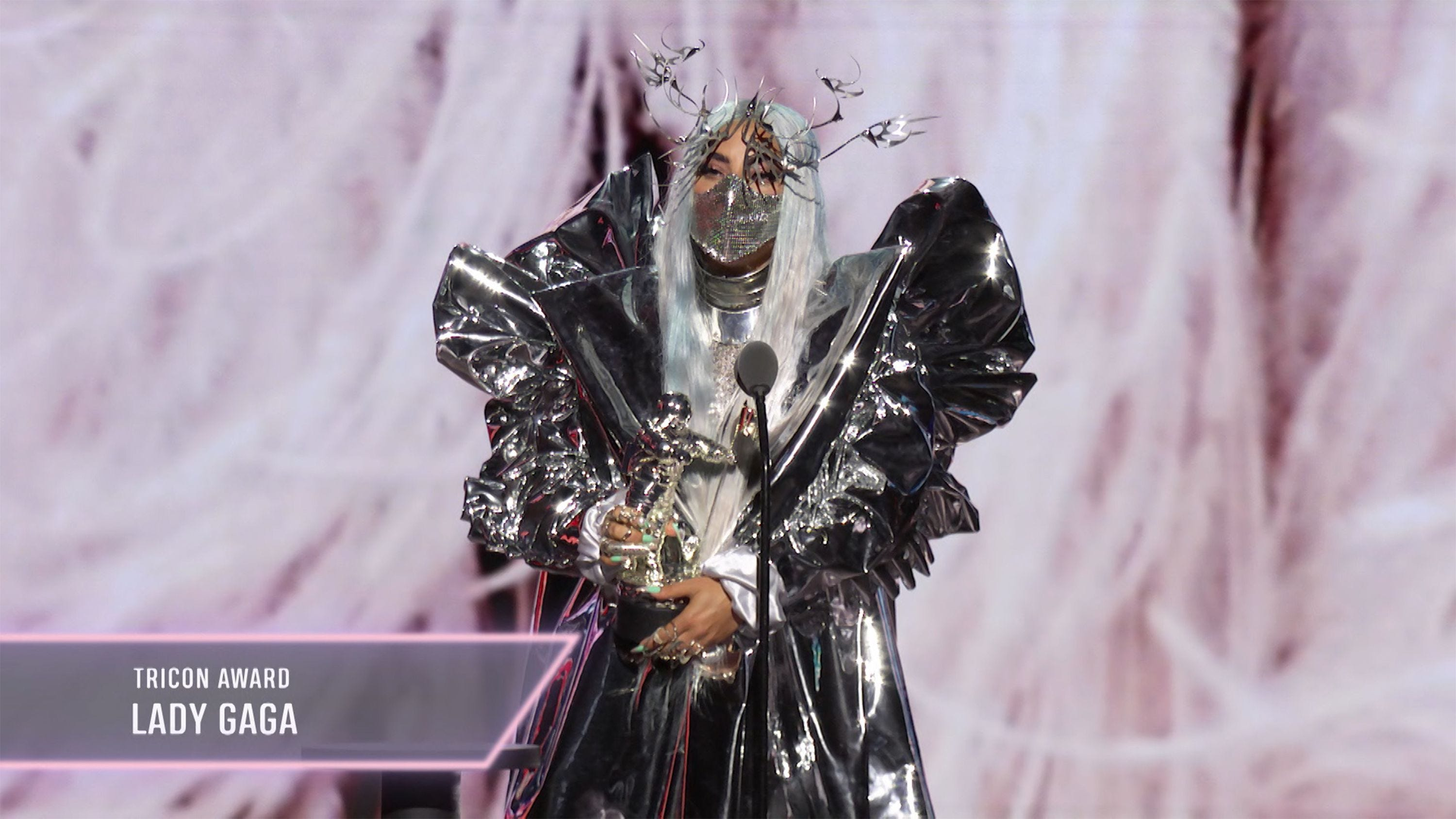 Mtv Vmas 2020 Lady Gaga S Wild Outfits Were From Another World