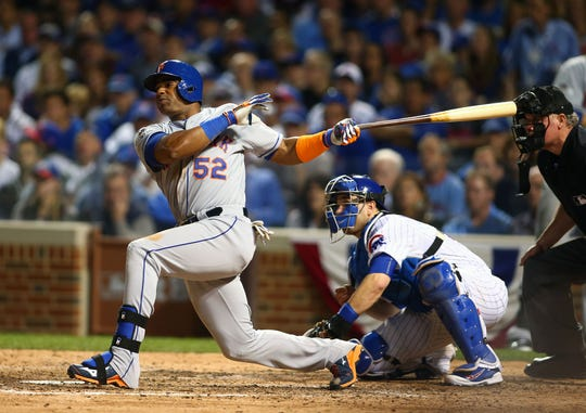 During happier days in New York, Yoenis Cespedes was blasting home runs and leading the Mets to the 2015 World Series