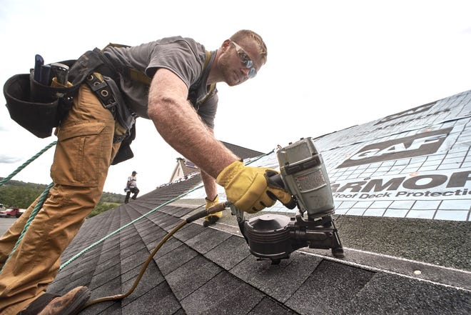 A new roof is one of the top end fixes you can do to to boost the exterior of your home.