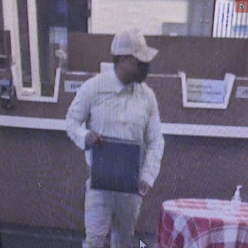 Perkasie police said this man robbed the Key Bank in Sellersville Tuesday morning.