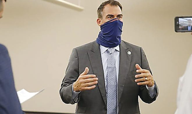 Oklahoma Gov. Kevin Stitt has taken a more reserved approach to the pandemic than most governors.