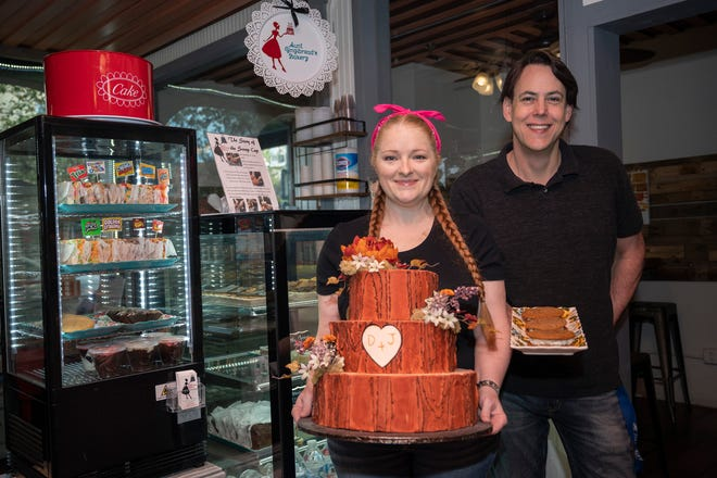Jennifer and Danny Javorowsky run Aunt Gingibread's Bakery which first opened in Apopka and has their newest location in downtown Mount Dora.