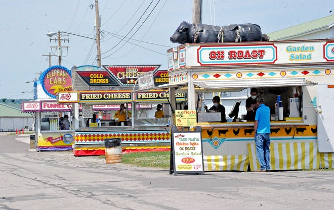 The 2020 Wayne County Fair will include a limited number of food vendors of about 20 due to COVID-19 .