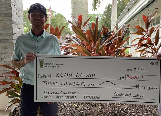 Kevin Aylwin took home a $3,000 check for winning the latest event on the West Florida Golf Tour. [W. Fla. Golf Tour]