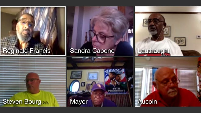 The Donaldsonville City Council conducts its meeting virtually Aug. 25.