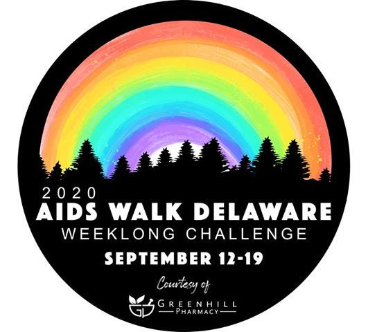 In 2020, AIDS Walk Delaware, presented jointly by AIDS Delaware and the Delaware HIV Consortium, will expand from two walks on the same day to a statewide, weeklong challenge, running Sept. 12-19.