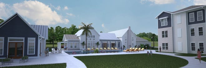 The Cadence by RangeWater is planned on 14 acres on the Duval County side of Nocatee.