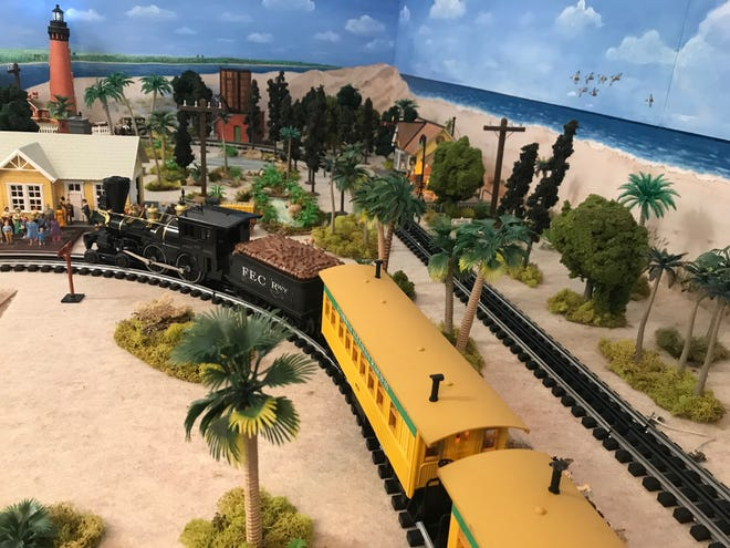 Celebrate the 125th anniversary of the Florida East Coast Railway on Sept. 13 by visiting the Beaches Museum's permanent model train exhibit.