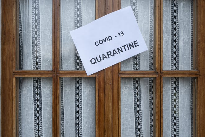 Some locations in the U.S. require residents to quarantine after visiting another high-risk state.