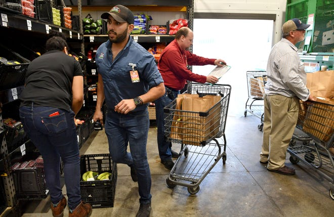 Detwiler's initially launched drive-thru grocery service at its Palmetto store after the COVID-19 outbreak. Now it is streamlining online service.